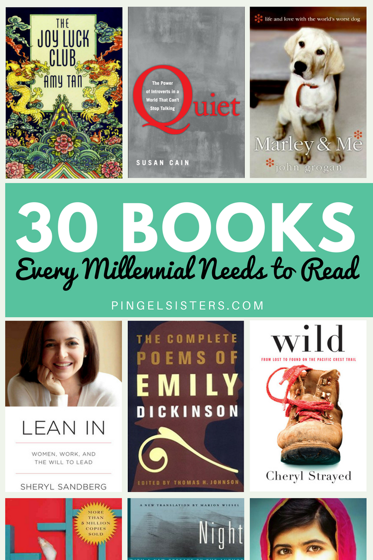30 Books Every Millennial Needs to Read