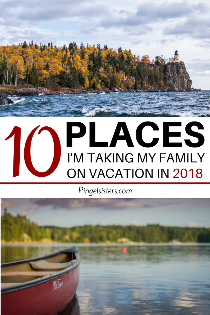 Do you want to take your family on vacation this year without spending too much money? Come check out my list of budget-friendly family destinations that my family of six is visiting this year.
