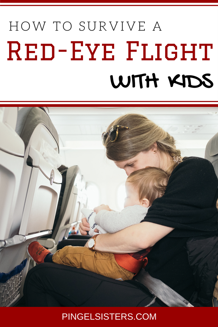 Debating whether to take a red eye flight with kids? Check out my tips on how to survive a red eye flight with kids without having the disaster that was my first experience. travel tips | red eye flight with kids | red eye | red-eye | red eye flight | red-eye flight | travel with kids | flying tips | family travel