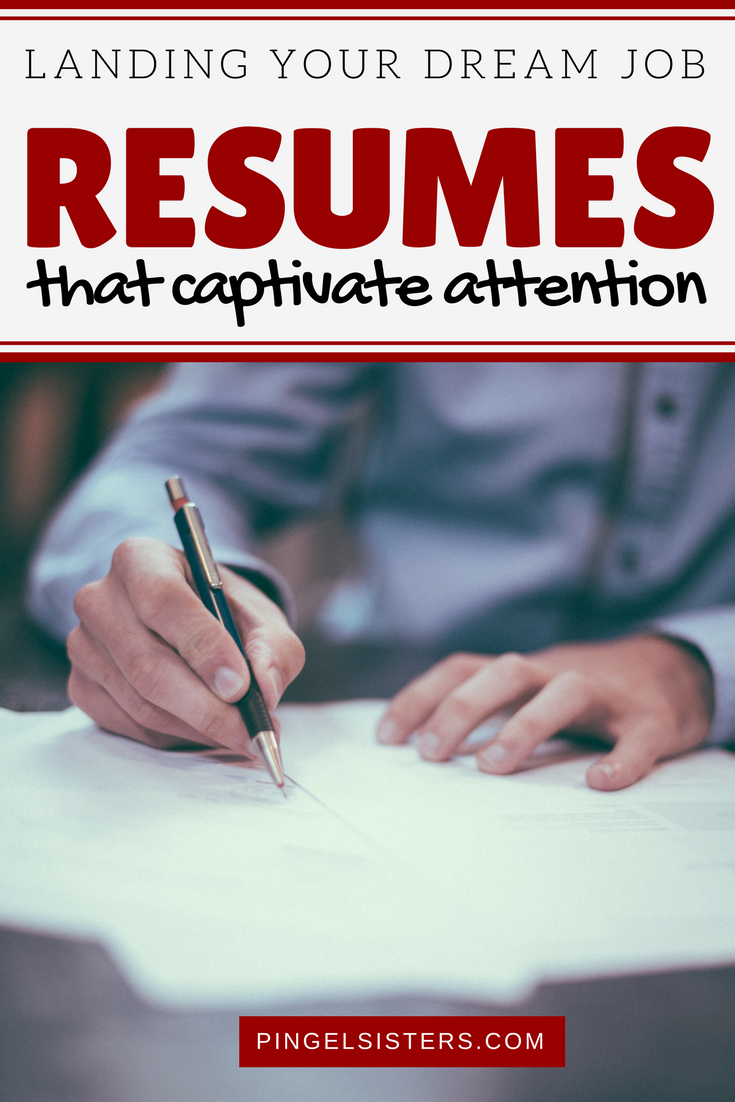 How can your resume get noticed? Writing a resume that captivates attention is the very first step to landing your dream job. Check out our five tips to help you grab attention right from the beginning. dream job | career advice | millennials | resume |job search | resume that grabs attention | resume that stands out | resume that captivates attention | landing dream job | perfect job | job search | job hunt | writing resume | resume tips