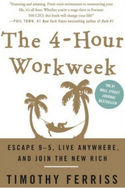 Book cover for The 4-Hour Workweek by Timothy Ferris
