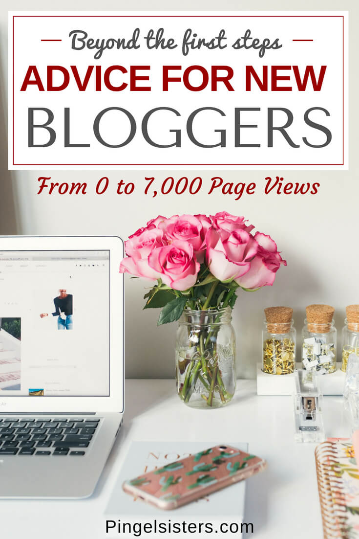 Are you a new blogger or interested in starting a blog? We are sharing our advice for new bloggers beyond the first few steps - how to successfully launch your blog and which social media accounts will give you the most bang for your buck. blogging | new blog | how to start a blog | blog launch | social media | email marketing | giveaway | increase page views | blog post checklist | blogging advice | advice for new bloggers | blog income report | mom blog | lifestyle blog | travel blog