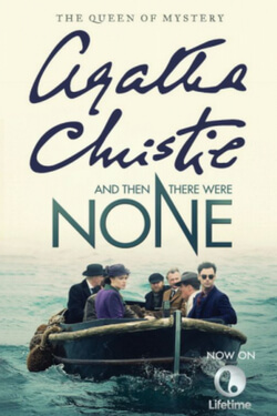book cover for And Then There Were None by Agatha Christie