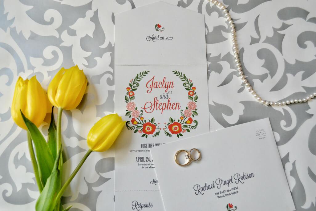 Basic Invite stationery - wedding invitation