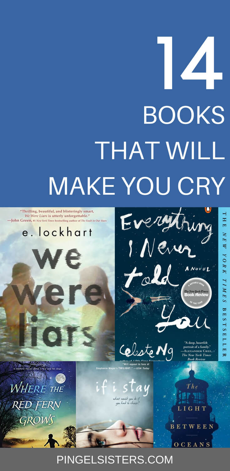 Looking for a good book? It takes a special kind of book to make you cry. It's all about investment. Here is my list of sob-worthy books that you will love reading, even if they make you cry. books that will make you cry | tearjerkers | books | fiction | nonfiction | book recommendations | book reviews | bestsellers | book club | books to read | good books | YA fiction