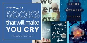 Looking for a good book? It takes a special kind of book to make you cry. It's all about investment. Here is my list of sob-worthy books that you will love reading, even if they make you cry.