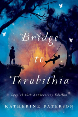 Book cover for Bridge to Terabithia by Katherine Paterson