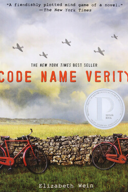 Book cover for Code Name Verity by Elizabeth Wein