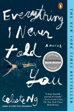 Book cover for Everything I Never Told You by Celeste Ng