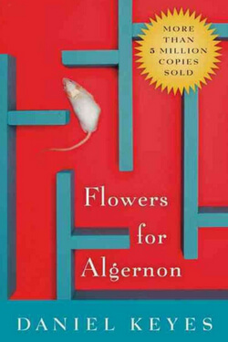 Book cover for Flowers for Algernon by Daniel Keyes