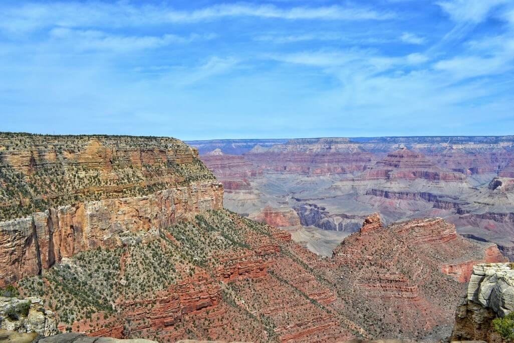 View at Grand Canyon National Park