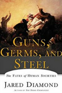 Book cover for Guns, Germs and Steel by Jared Diamond