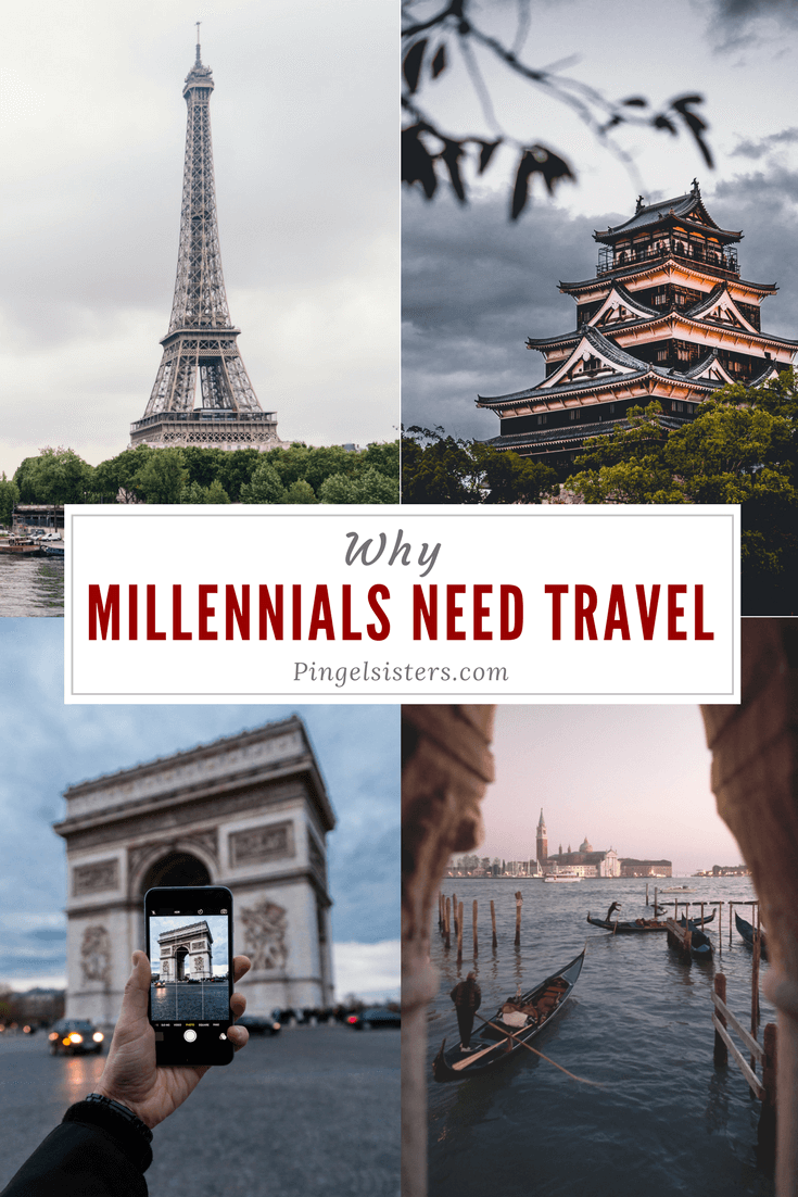 Millennials travel more than any other generation. We explain why millennials need travel - no, it's not just fear of missing out or social media envy - and our best travel advice and travel tips for millennials.