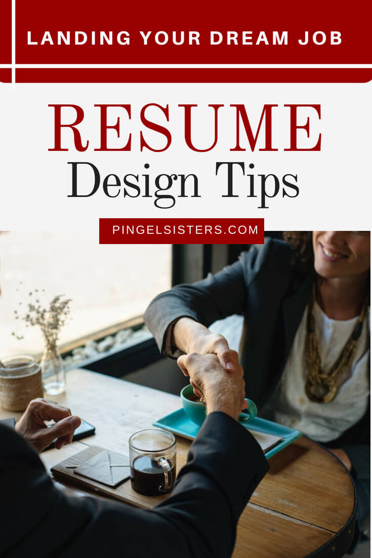 Designing an outstanding resume is a crucial element to landing your dream job. Resume design sounds straightforward, but people tend to overlook. We have the resume design tips you need to get your resume noticed. dream job | career advice | millennials | resume |job search | resume that grabs attention | resume that stands out | resume that captivates attention | landing dream job | perfect job | job search | job hunt | writing resume | resume tips | resume design tips