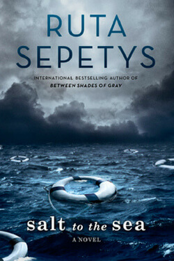 book cover Salt to the Sea by Ruta Sepetys