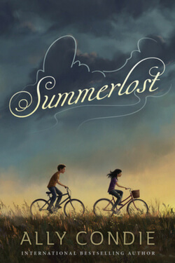 book cover for Summerlost by Ally Condie