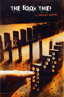 book cover for The Book Thief by Markus Zusak