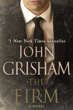 book cover for The Firm by John Grisham