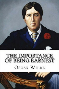 book cover for The Importance of Being Earnest by Oscar Wilde
