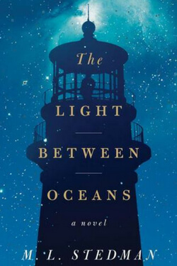 Book cover for The Light Between Oceans by M. L. Stedman