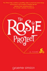 Perfect Beach Reads: The Rosie Project by Graeme Simsion
