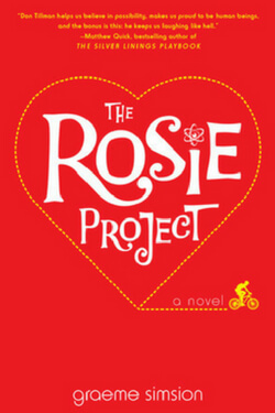book cover The Rosie Project by Graeme Simsion