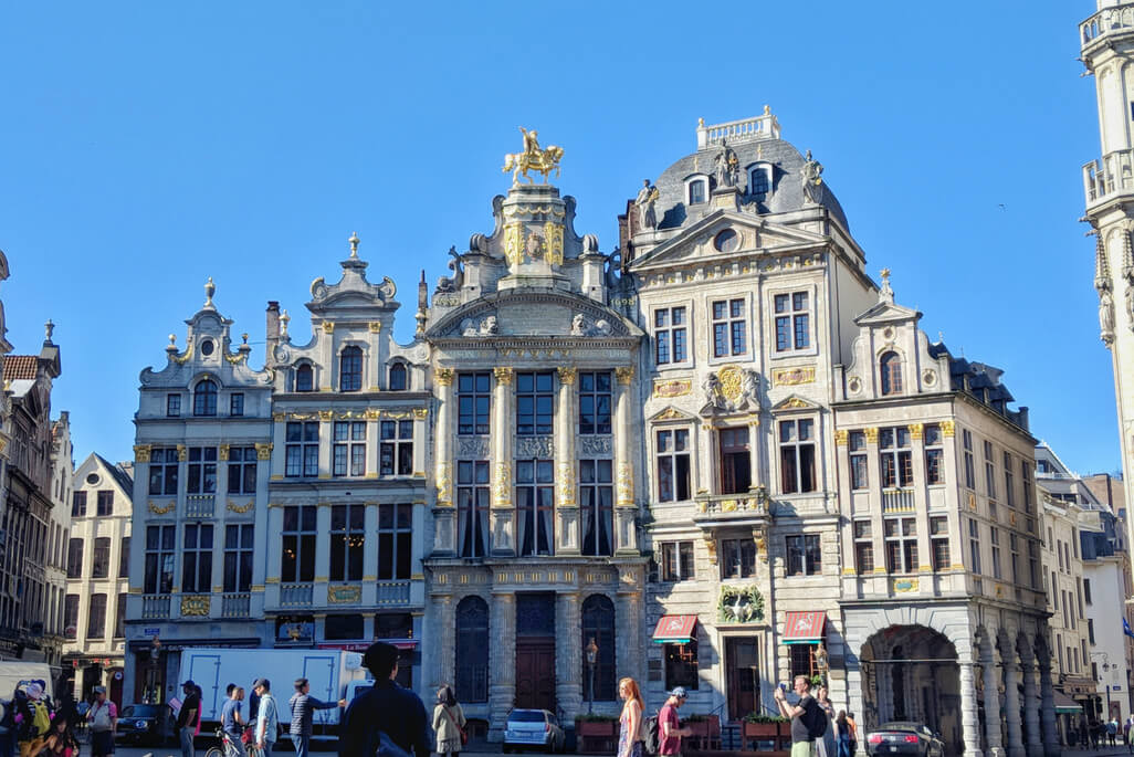 A Walking Tour of Brussels - Grand-Place in Brussels, Belgium