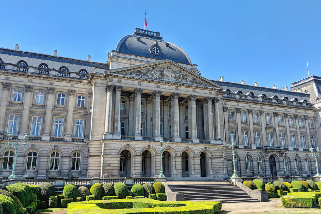 A Walking Tour of Brussels: The Royal Palace
