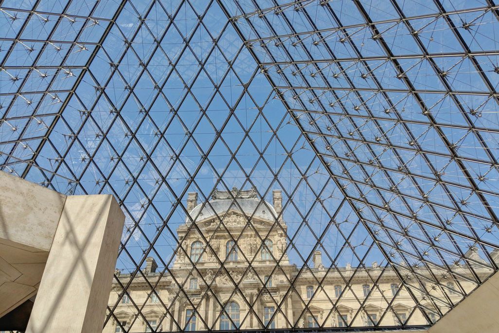 A Weekend in Paris: The Pyramid at the Louvre