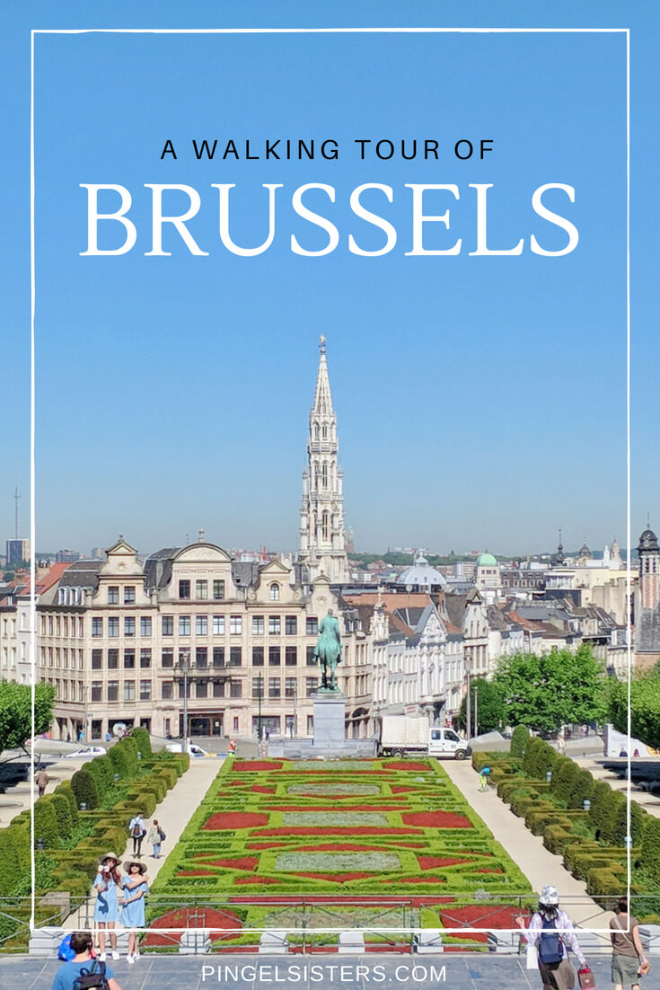 A Walking Tour of Brussels: The best things to see in Brussels on a self-guided walking tour. Perfect for your first visit to Bruxelles, Belgium. See all the highlights in one afternoon in Brussels.