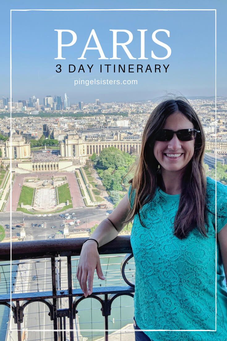 A Weekend in Paris:3-day Itinerary of Paris covering the best things to see in Paris, including the Louvre, Eiffel Tower, Palace of Versailles and more. The perfect guide to your first visit ot Paris, France.