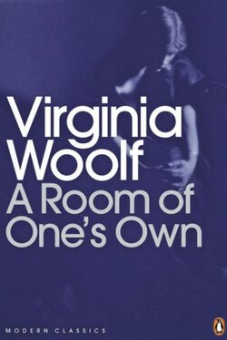 book cover for A Room of One's Own by Virginia Woolf