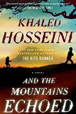book cover for And the Mountains Echoed by Khaled Hosseini