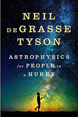book cover for Astrophysics for People in a Hurry by Neil deGrasse Tyson