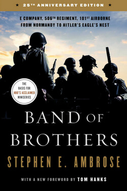 book cover for Band of Brothers by Stephen Ambrose