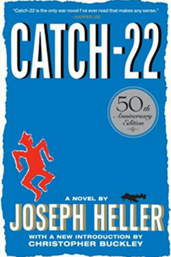 book cover for Catch-22 by Joseph Heller