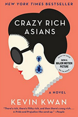book cover for Crazy Rich Asians by Kevin Kwan