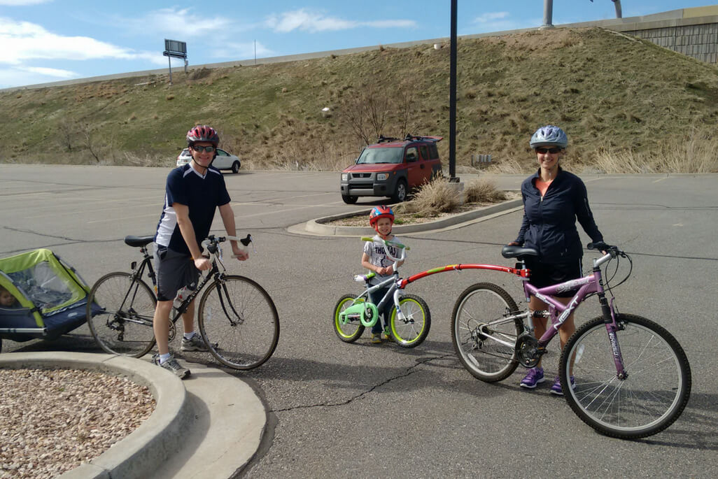 Stay Active After Kids: Family Bike Ride