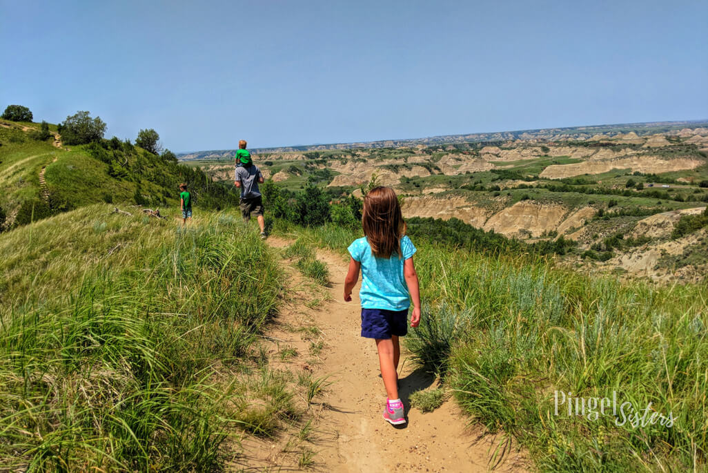 Hiking the Ridgeline Trail at Theodore Roosevelt National Park in North Dakota