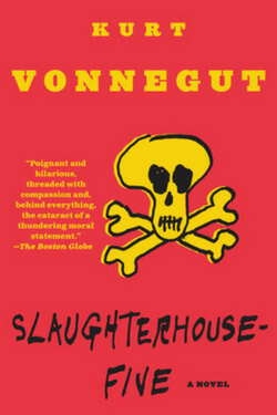 book cover for Slaughterhouse-Five by Kurt Vonnegut