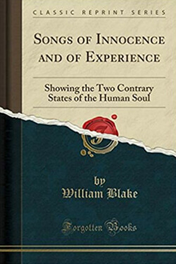 book cover for Songs of Innocence and Of Experience by William Blake