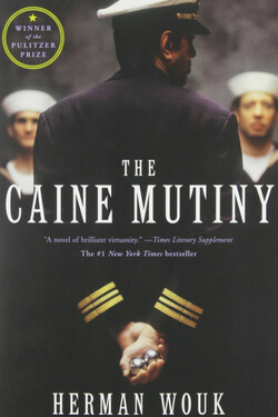 book cover for The Caine Mutiny by Herman Wouk