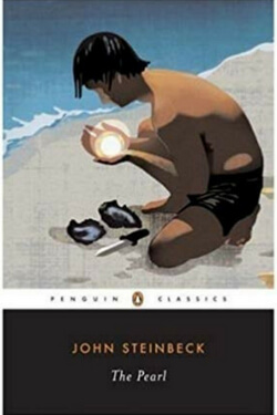book cover for The Pearl by John Steinbeck