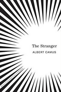 book cover for The Stranger by Albert Camus