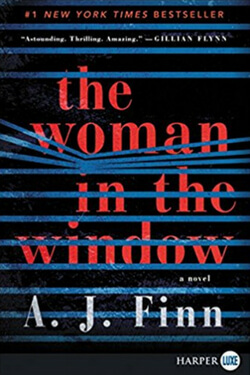 book cover: The Woman in the Window by A. J. Finn