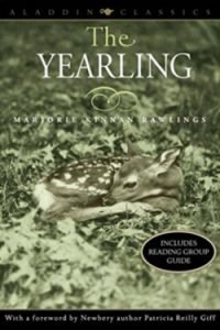 The Yearling by Marjorie K. Rawlings