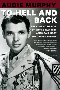 book cover for To Hell and Back by Audie Murphy