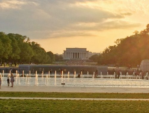 An Art Lover's Guide to Washington DC: WWII Memorial and Lincoln Memorial