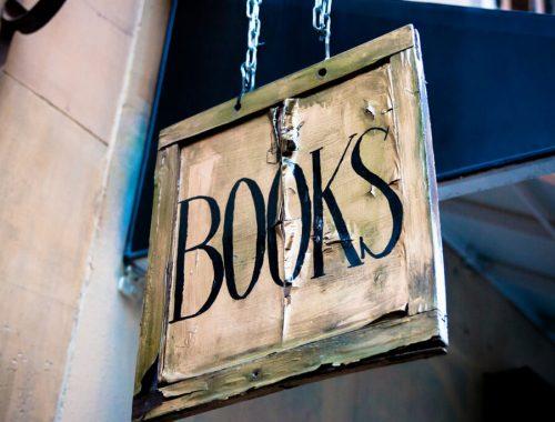 sign books