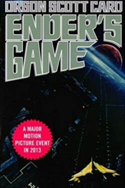 book cover for Ender's Game by Orson Scott Card